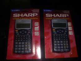 2 Sharp EL-531WH Scientific calculators