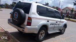 Land cruiser Prado KBE on sale. very smart!!