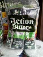 Action Bitters Alcoholic Drink.