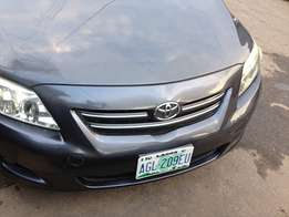 Used Toyota Corolla (2008) for sale urgently.