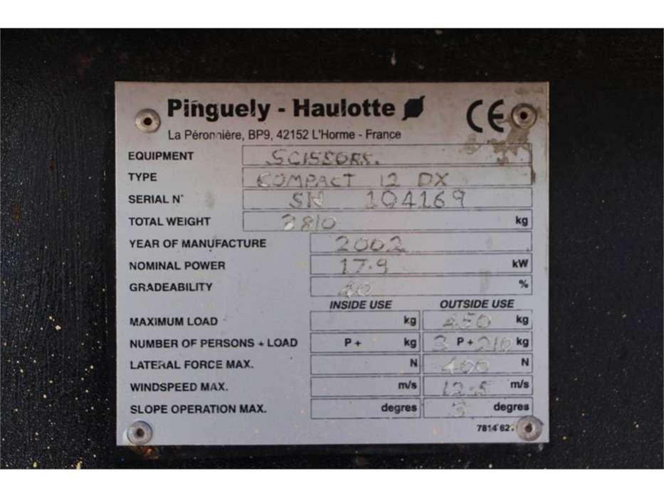 Haulotte COMPACT 12DX - 2002 - image 6