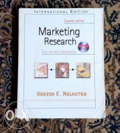Marketing Research by Malhotra + CD