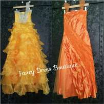 Fancy Dresses for hire