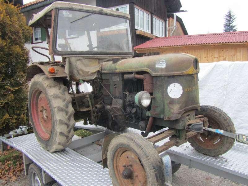 Deutz-fahr F 2 L 612/5 Motor 2 Zylinder 712 Originalzustand - 1959