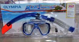 Mask norkel set professional