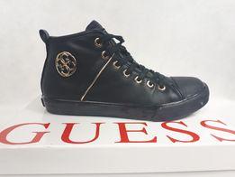 30d8aada Botki sneakersy czarne GUESS 37 tenisówki botki