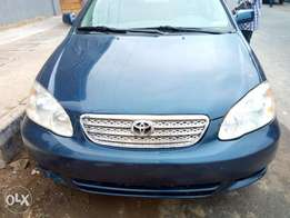 Toyota corolla 2004 model foreign used