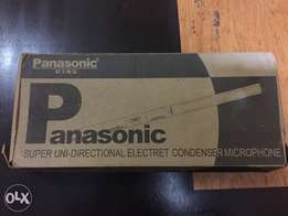 Panasonic super uni-directional Mic