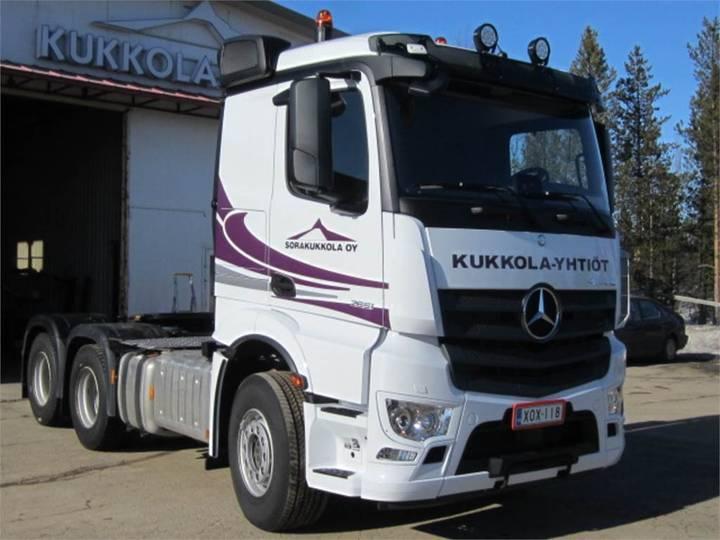 Mercedes-Benz Actros 2651ls 6x4 Kippihydrauliikka - 2018