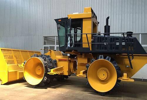 Compactor pentru gropi de gunoi SR32YR compactor