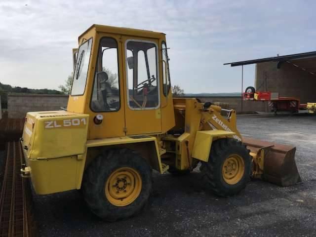 Zettelmeyer ZL 501 - 1980