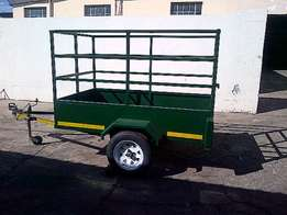2.5m Green Cargo Trailer Perfect for garden service or small loads