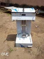 shawarma grill machine (2 burners) with double griddle toasting machin