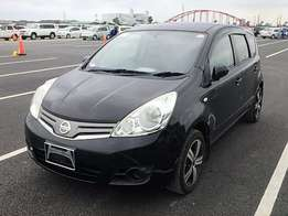 Cool black Nissan Note 2010 15× Alloy+Navi HDD