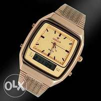 Gemstar gold watch