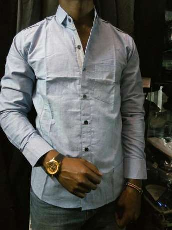 Slim-fit casual Plain shirts Nairobi CBD - image 2