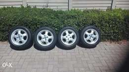 14 inch VW rims and tyres in good condition R2200