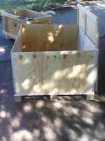 Big wooden box crate for sale