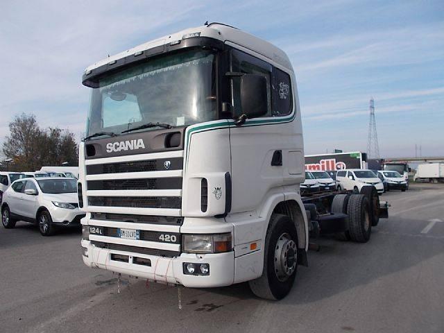 Scania R 124 LB 6X2 4 NA 420 - 2000