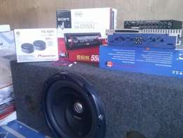 Complete car audio Systems