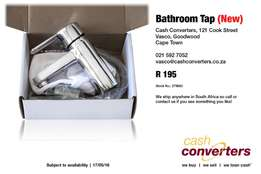 Bathroom Tap (New)