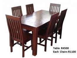 special on dinning table & chairs