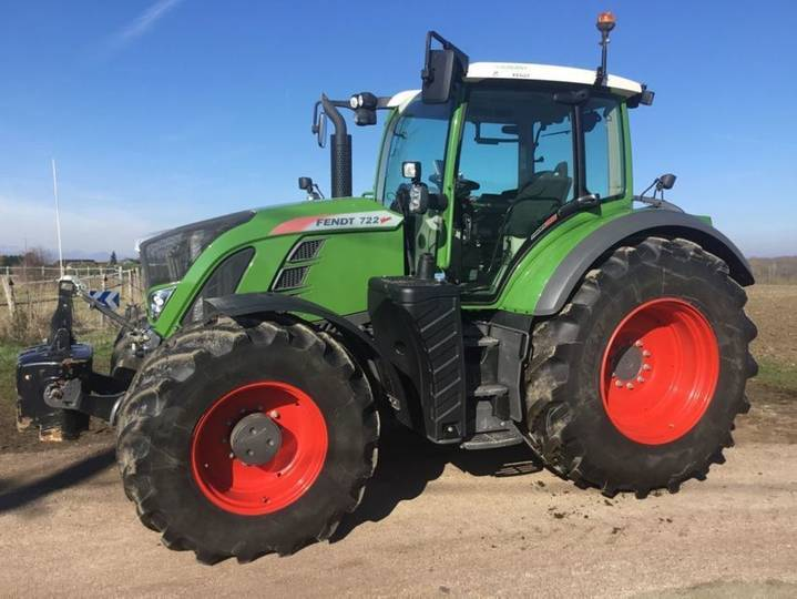 Fendt 722 s4 profi plus - 2017