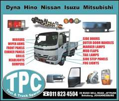 New Replacement TRUCK PARTS for Dyna, Hino, Nissan, Isuzu, Mitsubishi