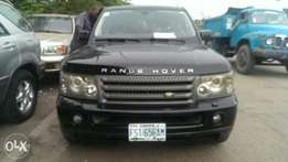6 months used 2006 range rover sport hse full option.