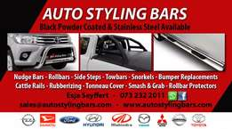 Nudge & Rollbar Combo Specials, Tonneau Covers, Side Steps & Towbars