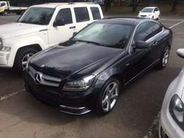 2012 Mercedes Benz C250 BE Coupe Automatic