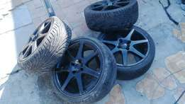 """17"""" rims including tyres"""