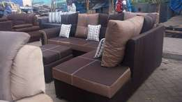 L seat plus Sofabed 9seater