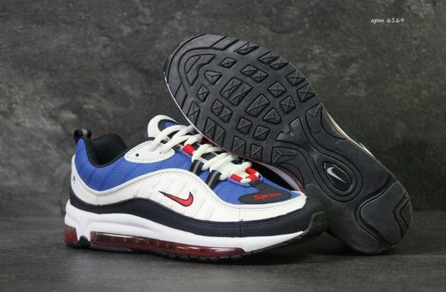b15f881e Синие мужские кроссовки Nike Air Max Supreme 98. Топ качество. Вьетнам Киев  - изображение