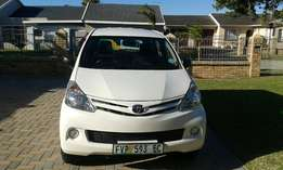 Toyota avanza in an immaculate condition