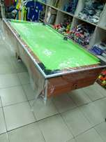 New local snooker table