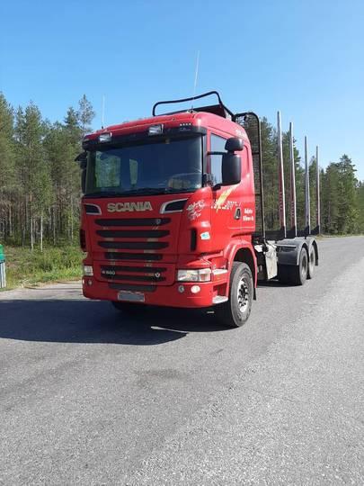 Scania R 560 Cb - 2012