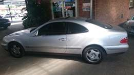 Mercede Benz CLK 320 A/T 1998 model with only 126789 km