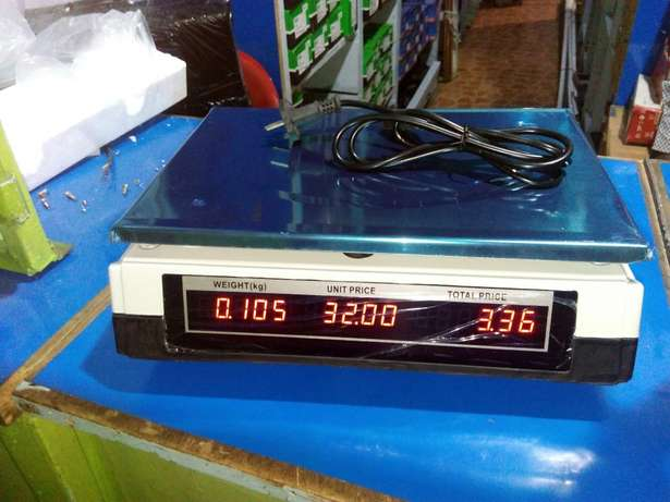 Flat top digital weighing scale Nairobi CBD - image 2
