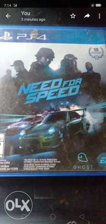 Need for speed cd for ps4