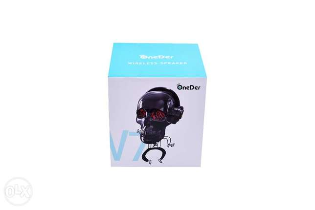 Skull Head Bluetooth Wireless Stereo Speaker مدينة نصر -  3