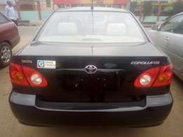Tokunbo Toyota corolla for sale accident free 04 model