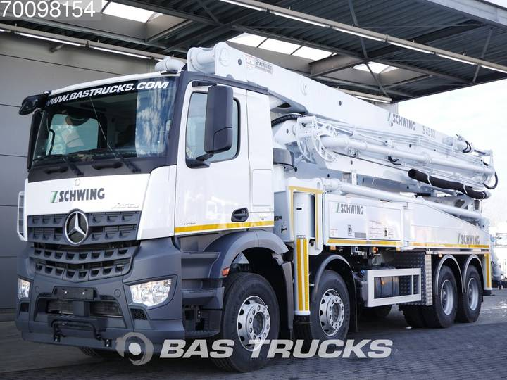 Mercedes-Benz Arocs 4142 B 8X4 NEW! Schwing S43SX Euro 6 - 2019