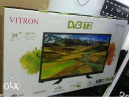 24 inches Vitron digital tv qith inbuilt decoder