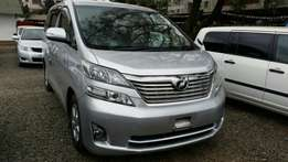 Clean Toyota Alphad/Valfire ,silver colour get it on hire-purchase!