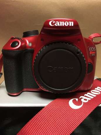 Canon EOS Rebel T5 Red EF-S 18-55mm IS II lens plus EF 75-300mm lens Imara Daima - image 4