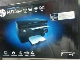 Hp printer 125 NW. 3 in one. Print, scan and photocopy using wirelles