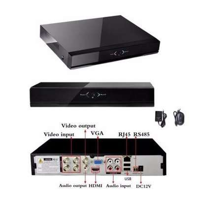 4 Channel AHD-720P CCTV DVR with HDMI Internet & Smartphone Remote Acc Port Harcourt - image 1