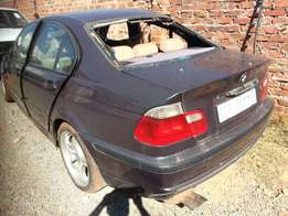2001 bmw 320i stripping