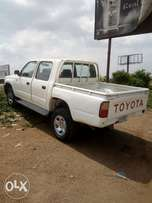 A very rugged Toyota hilux